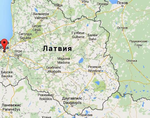 карта литовской границы
