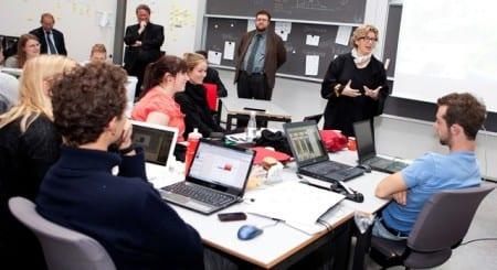 Занятия в техническом университете Дании
