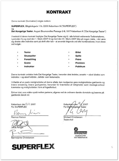 Образец контракта с работодателем