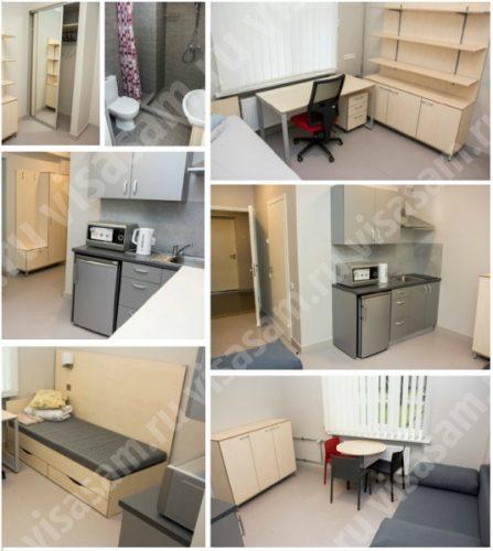 Студенческое общежитие в Латвии