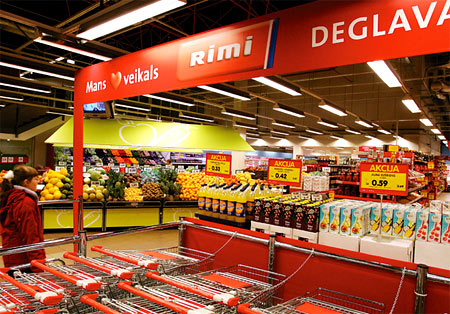 супермаркет в Литве
