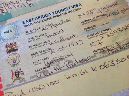 Единая Восточно-Африканская виза