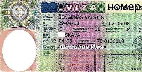 Однократная шенгенская виза