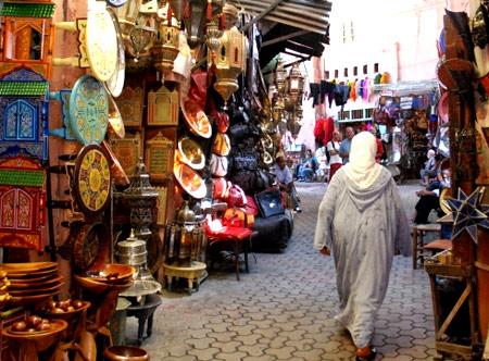 рынок в Алжире