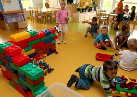 детский сад в Латвии