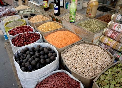 Рынок в Манаме