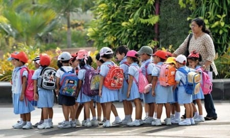 Группа детского сада в Чили