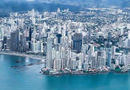 Город Панама-Сити - столица Панамы