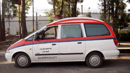 Карета скорой помощи в Иране