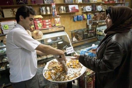 Рынок в Тегране