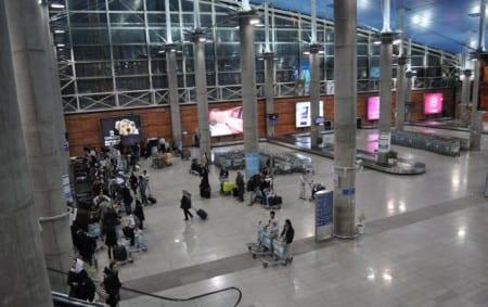 Паспортный контроль в Тегеране