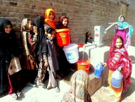 Водопровод в Пакистане