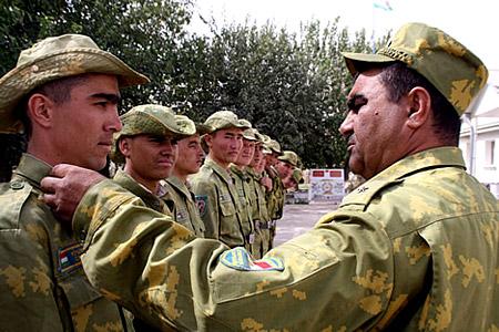 армия Таджикистана