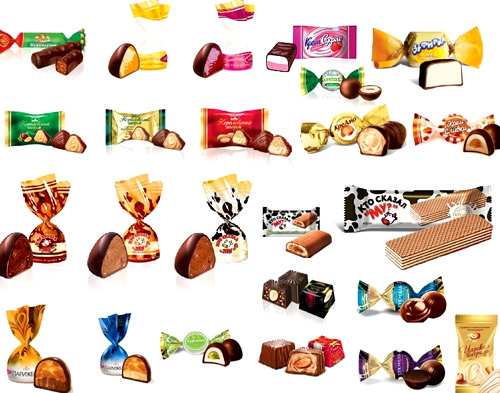 конфеты АВК