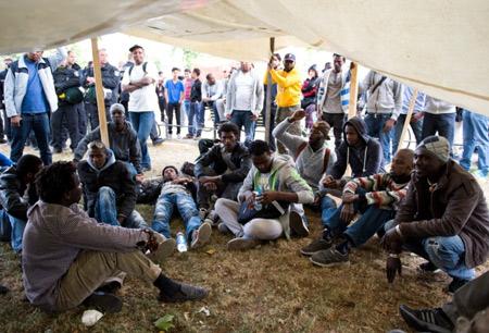 Германия беженцы