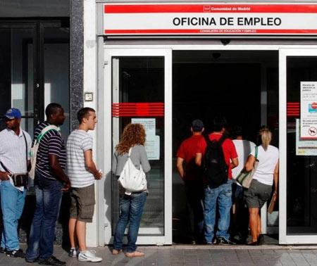 биржа труда в Барселоне