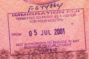 Фиджи виза