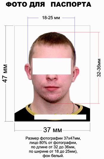 фото для паспорта