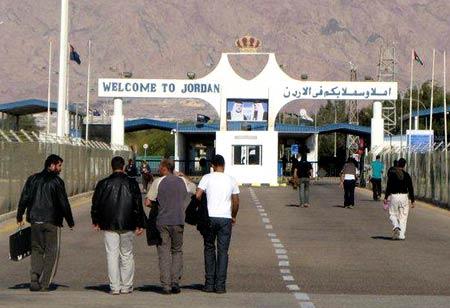 иорданская граница