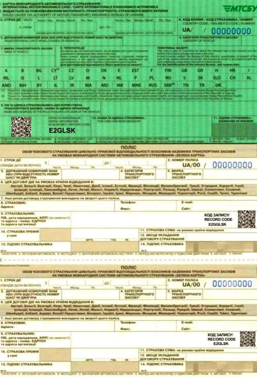 новая green card