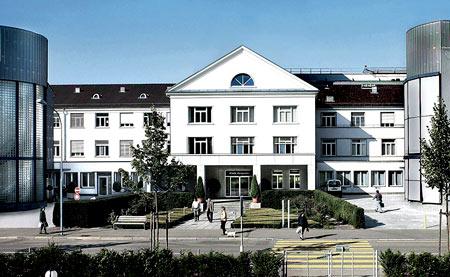 больница в Швейцарии