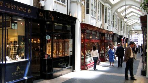 лондон магазины