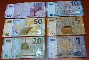 деньги Азербайджана