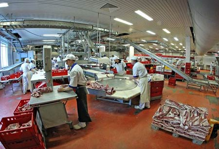 мясокомбинат в Польше
