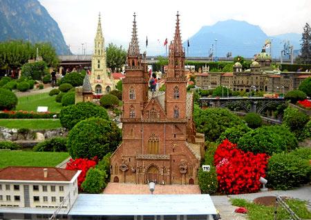 парк миниатюр в Швейцарии