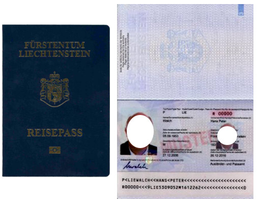 лихтенштейн паспорт