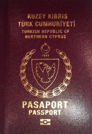 паспорт северного кипра