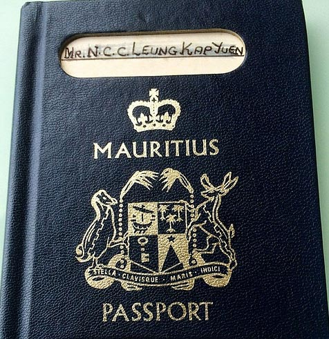 паспорт маврикия
