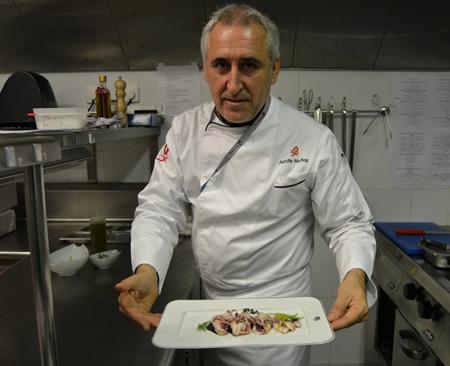повар в Мадриде