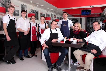 Милан работа в ресторане