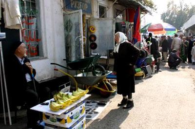 Рынок в Душанбе