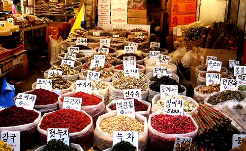 рынок в Сеуле