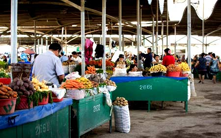 рынок в узбекистане
