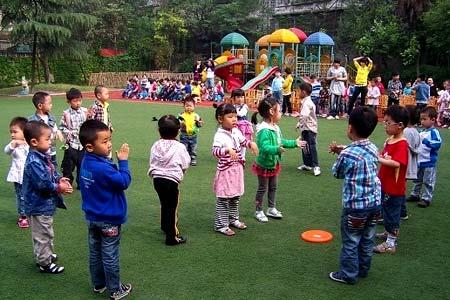 детсад в Китае