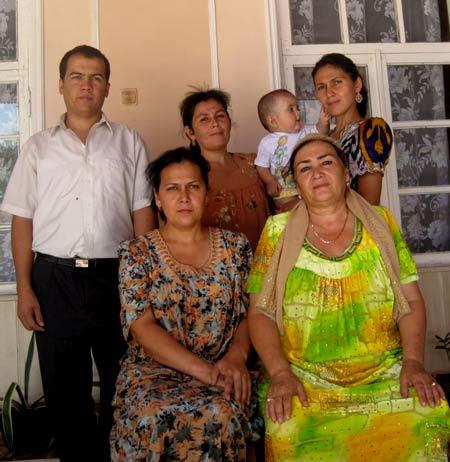 таджикская семья