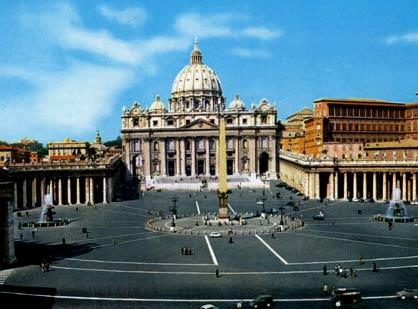 собор и площадь святого петра