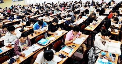 студенты в южной корее