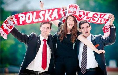 польские студенты