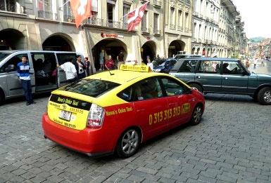 такси в швейцарии