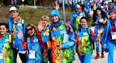 Работа волонтером на Олимпиаде