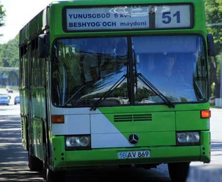 транспорт в Узбекистане