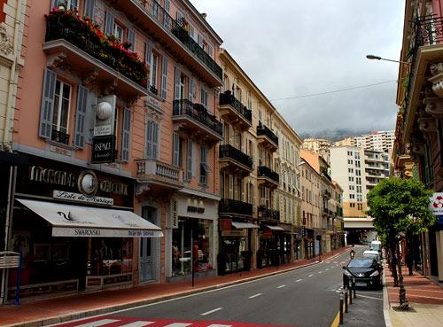 Монако улица