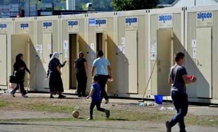 вагончики для беженцев