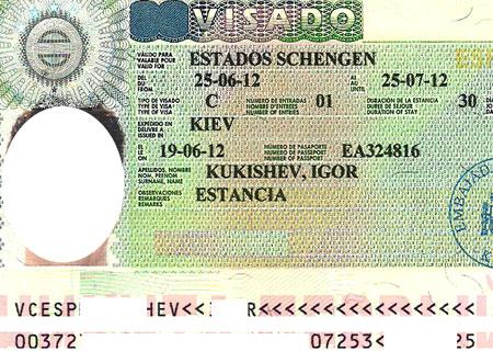 испанская шенгенская виза