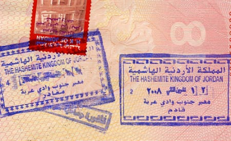 иордания виза