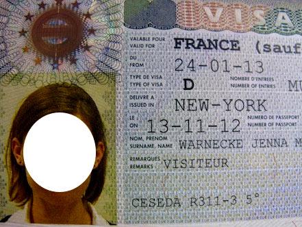 виза в париж